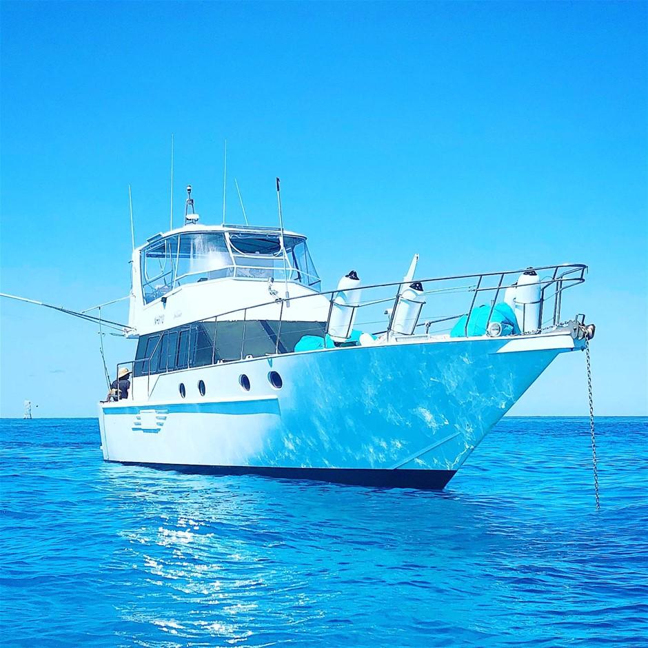 56 foot Custom Cruiser / Sports Fisher 'Sea Dancer'