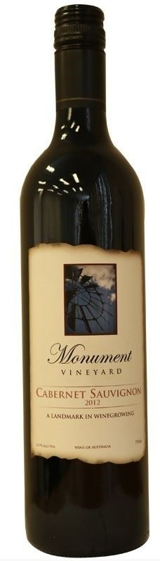 Monument Vineyard Cabernet Sauvignon 2012 (6 x 750mL) Central Ranges, NSW