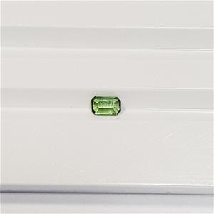 0.30 ct Emerald Cut Natural Green Tourma
