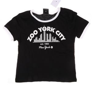 ZOO YORK Women`s City Crew Neck T-Shirt,