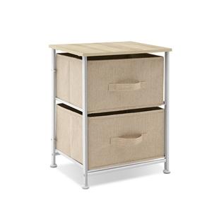 Bedside Table Cabinet Lamp Side Unit 2 D