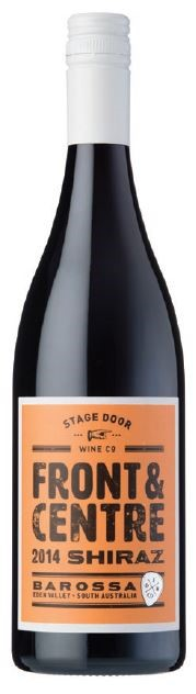 Stage Door Wine Co. Front & Centre Shiraz 2014 (6 x 750mL) Barossa