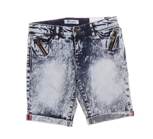 2 xTRACTOR Girl`s Jean Shorts, Size 12,