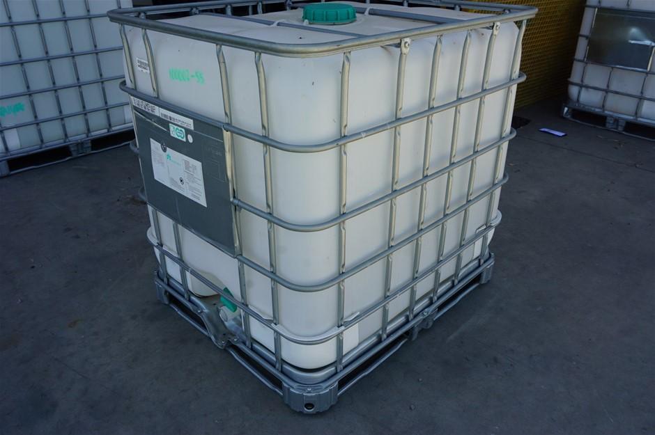 Empty Liquid Container