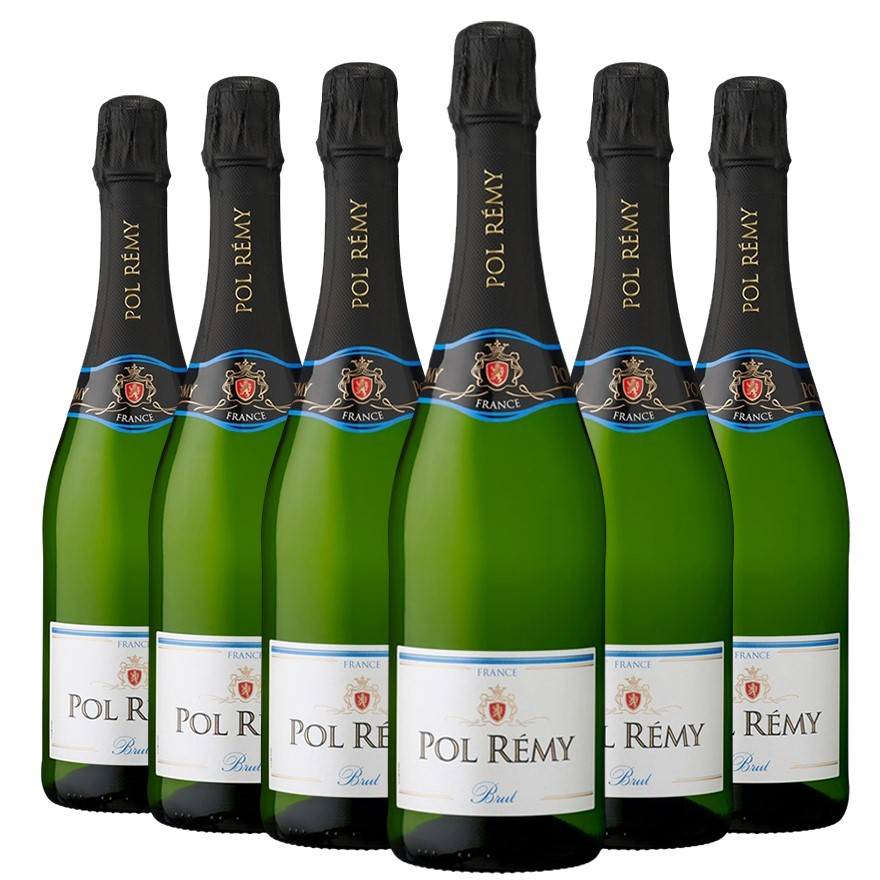 Pol Rémy Brut NV (6 x 750mL), France.