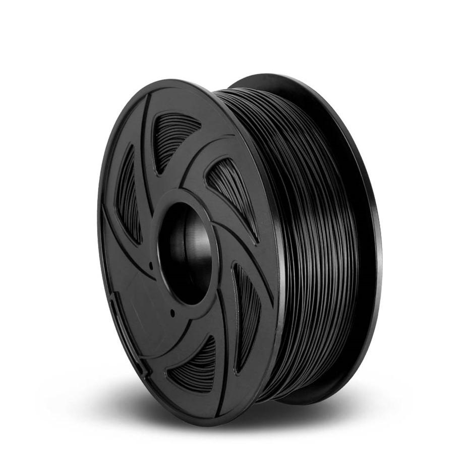 3D Printer Filament ABS 1.75mm 1kg Roll Accuracy 0.02mm Spool Black