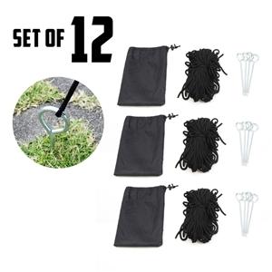 12X Gazebo Rope Set