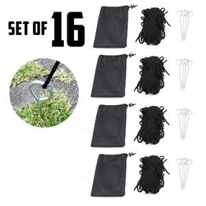 16X Gazebo Rope Set