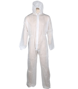 25 x Disposable Protective Coveralls, Si