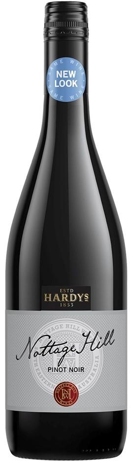 Hardy's `Nottage Hill` Pinot Noir 2017 (6 x 750mL), SE AUS.