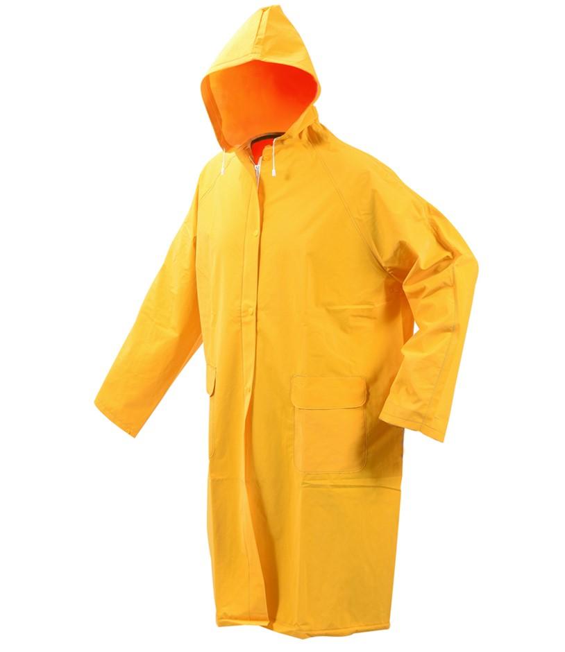 VOREL PVC Rain Jacket Size 3XL Zip/Stud Front Closure. Buyers Note - Discou