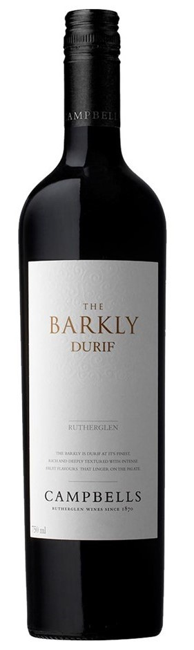Campbells Barkly Durif 2013 (6 x 750mL), Rutherglen, VIC.