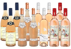 French Rose Mixed Pack (12 x 750mL)