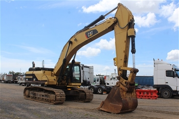 Caterpillar 345 B Hydraulic Excavator