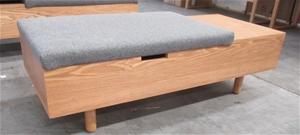 Cool Qty 1 X Mimico Mimico Storage Ottoman Pabps2019 Chair Design Images Pabps2019Com