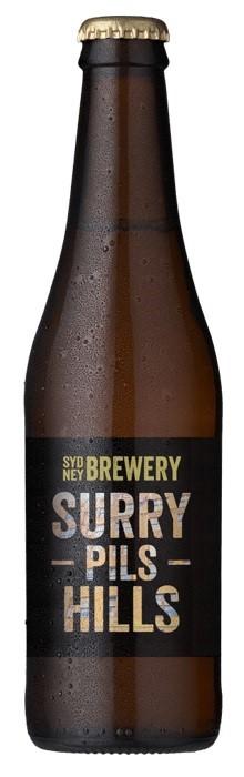 Sydney Surry Hills Pils (24 x 330mL Bottles)