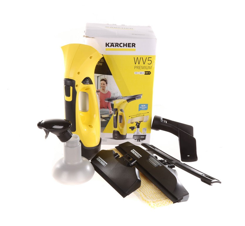KARCHER WV5 Premium Cordless Window Vac. N.B. Has been used (SN:CC33225) (2