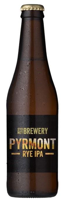 Sydney Berwery Pyrmont Rye IPA (24 x 330mL Bottles)