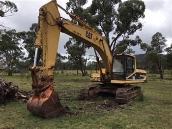 Tracked Excavator, Caterpillar 325
