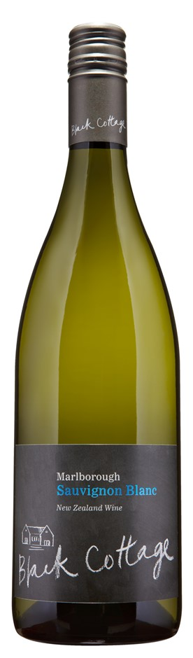 Black Cottage Sauvignon Blanc 2018 (12 x 750mL), Marlborough, NZ.