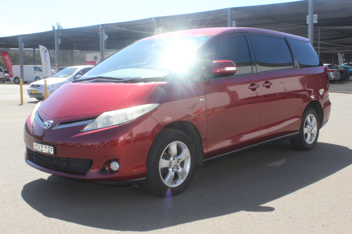 2011 Toyota Tarago GLI ACR50R Automatic 8 Seats People Mover