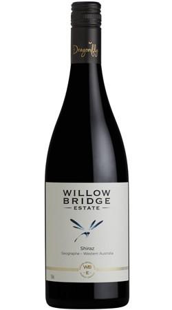Willow Bridge Dragonfly Shiraz 2017 (12 x 750mL), Geographe, WA.