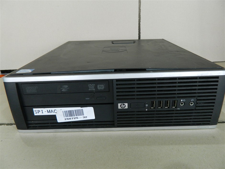 HP Compaq 8000 Elite SFF PC Small Form Factor (SFF) Desktop PC