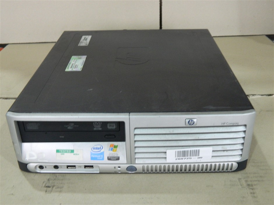 HP Compaq dc7600 Small Form Factor Small Form Factor (SFF) Desktop PC