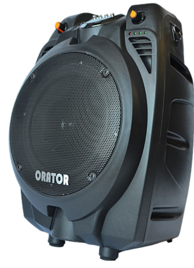 "Orator PA65 Audio Portable 6.5"" PA Speaker with Bluetooth/USB Connectivity"