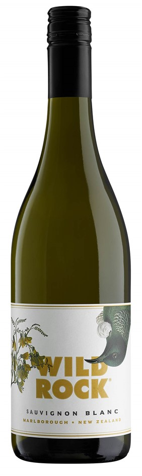 Wild Rock Marlborough Sauvignon Blanc 2018 (12 x 750mL), Marlborough, NZ.