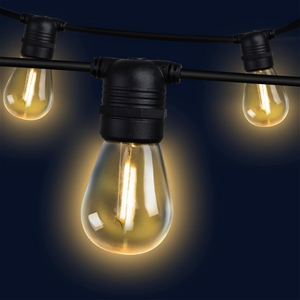 50m LED Festoon String Lights Kits Weddi