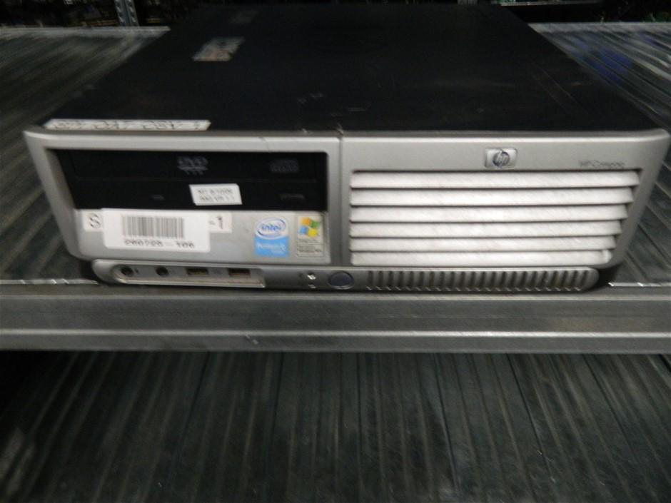 HP Compaq dc7700 Small Form Factor Small Form Factor (SFF) Desktop PC
