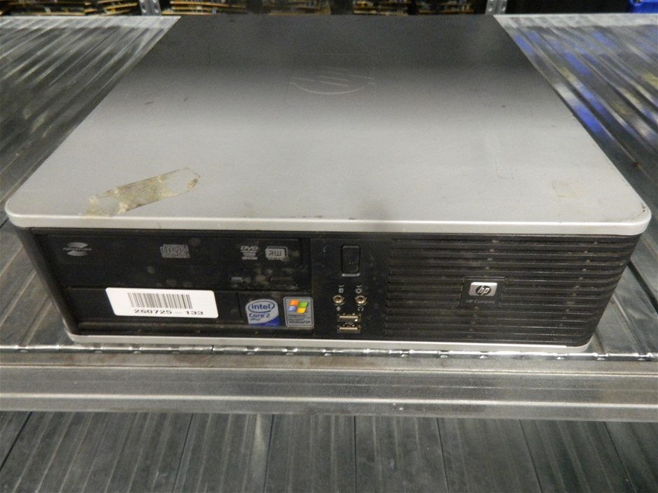 HP Compaq dc7800p Small Form Factor Small Form Factor (SFF) Desktop PC