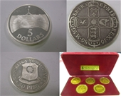 Unreserved Collectable & Commemorative Coins & Bullions