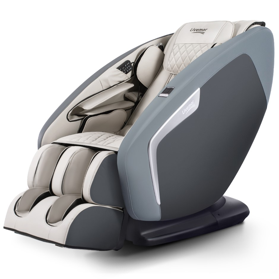 Livemor 4D Electric Massage Chair Body 52 Air Bags Shiatsu Large Health