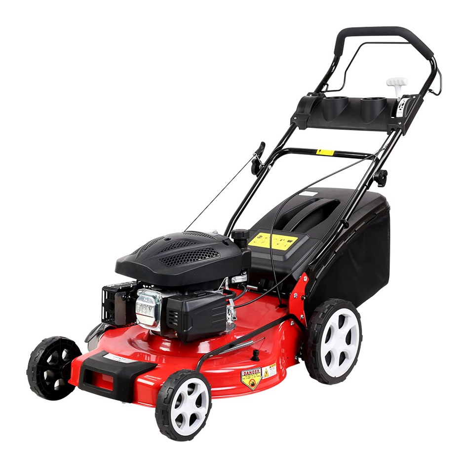 Giantz Lawn Mower Propelled Petrol Lawnmower 4 Stroke Grass Catch