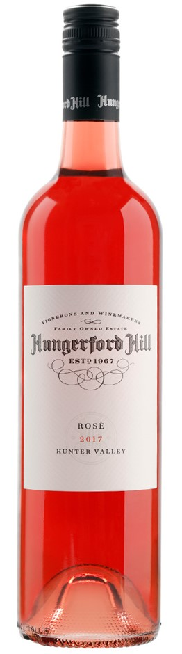 Hungerford Hill Classic Hunter Valley Rose 2017 (6 x 750mL), NSW.