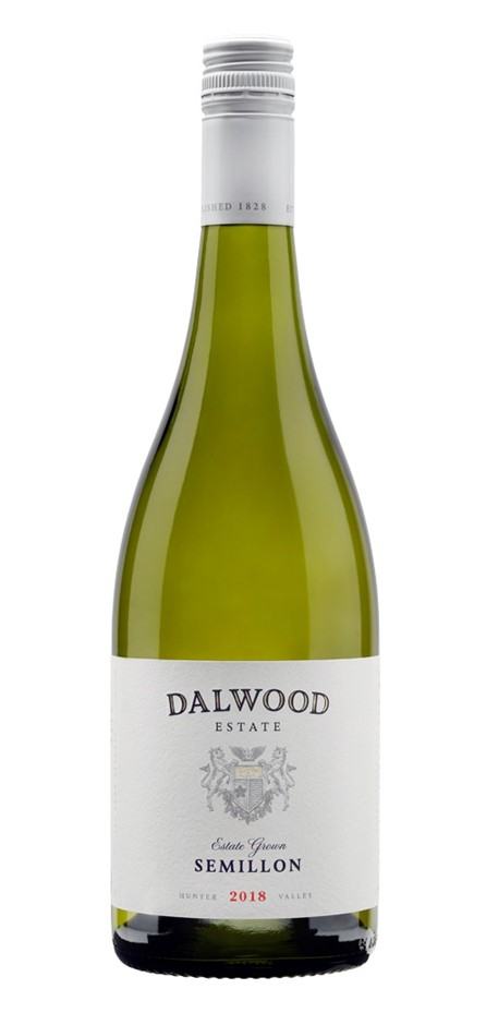 Dalwood Estate Semillon 2018 (6 x 750mL), Hunter Valley, NSW.