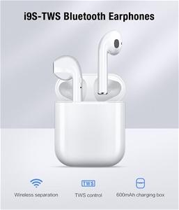 i9s TWS Smart Wireless Bluetooth Earphon