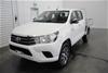 2015 Toyota Hilux SR (4x4) Turbo Diesel Dual Cab Chassis, 110,520km