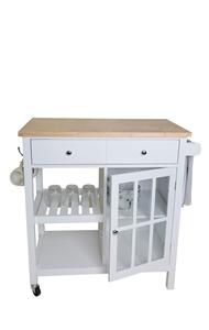 Montauk Kitchen Trolley 2 Drawer 1 Door