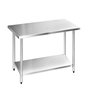Cefito 1219 x 610mm Commercial Stainless