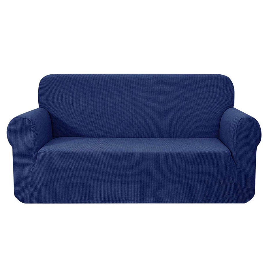 Artiss High Stretch Sofa Lounge Protector Slipcovers 3 Seater Navy