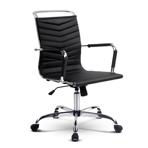 Eames Replica PU Leather Office Chair Ex