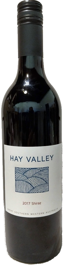 Hay Valley Shiraz 2017 (12 x 750mL) Great Southern, WA