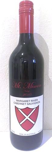 Mt Misoon Cabernet Sauvignon 2010 (12 x 750mL) Margaret River, WA