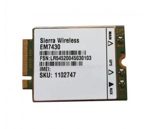 ThinkPad Sierra EM7430 CAT6 WWAN Mobile Broadband Module