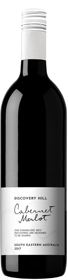 Discovery Hill Cabernet Merlot 2017 (12 x 750mL) Murray Darling