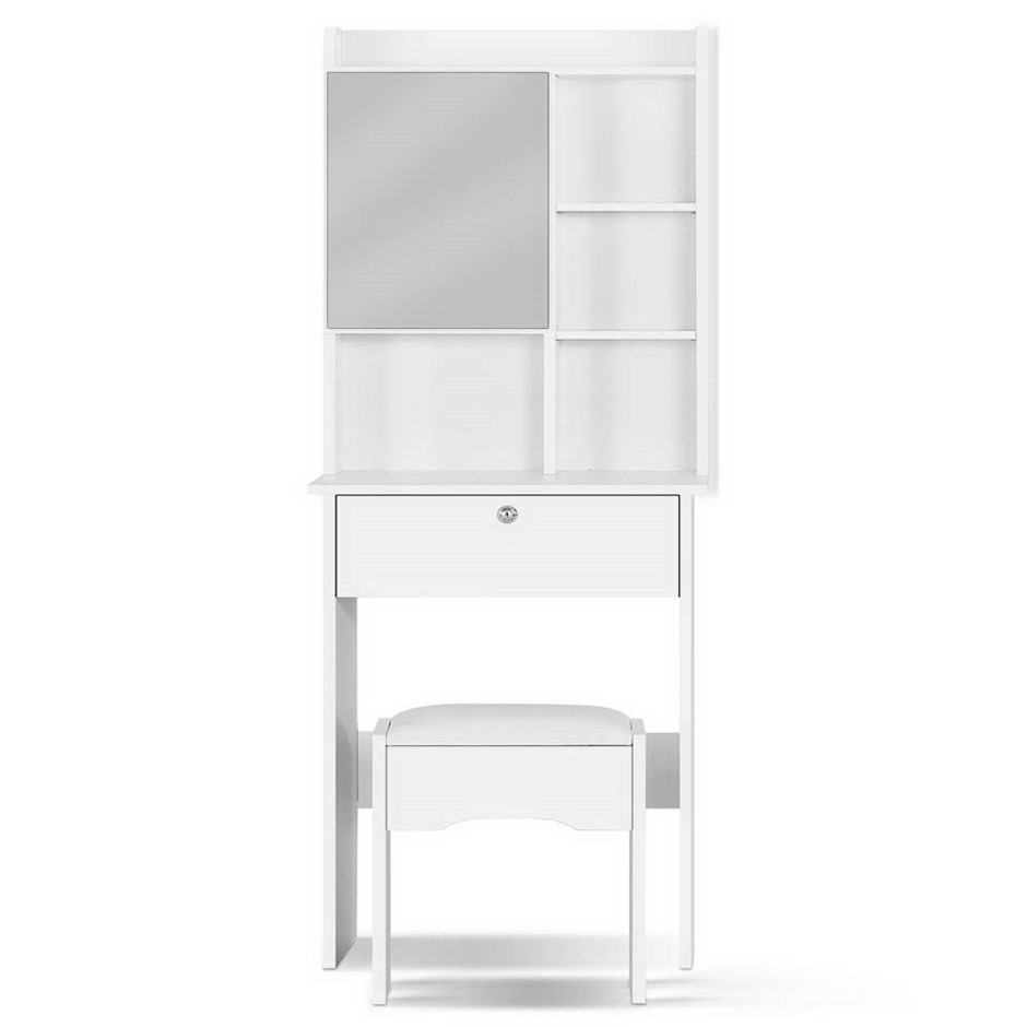 Artiss Dressing Table Mirror Makeup Jewellery Storage Cabinet Drawer