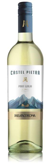 Castel Pietra Pinot Grigio 2017 (6 x 750mL) Dolomiti, Italy